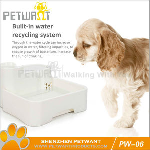 Automatic water drinker/ automatic water feeder/ cheap pet water fountain