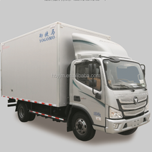 Foton small refrigerator van truck for meat and fish