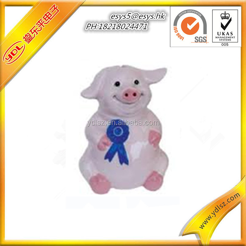 Promotion Cheap Plastic House Piggy bank/Pig Money Bank/ Coin bank