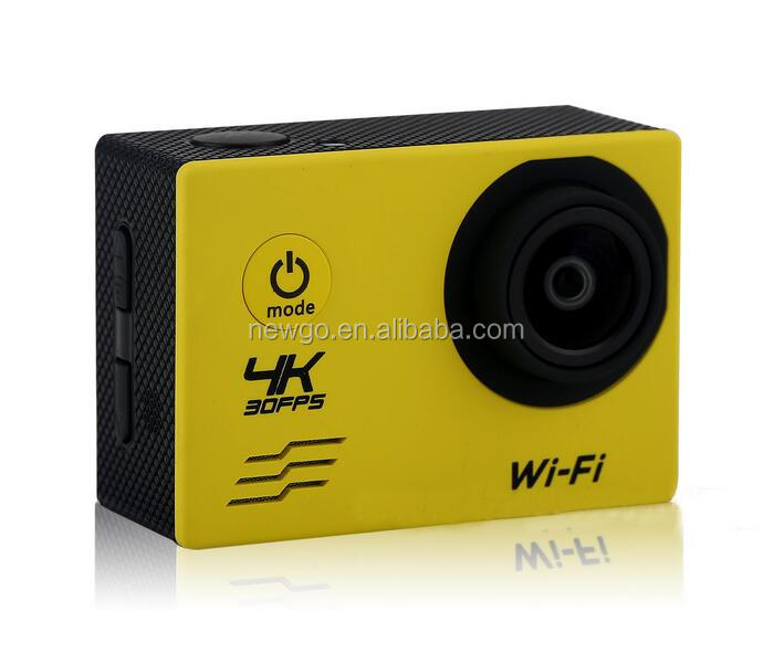 2.0 Inch Waterproof 4K WiFi Action Camera Sport DV Camera with 4K 1080p Full HD 720p