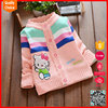 Latest style long sleeves customized sweater designs for baby girls