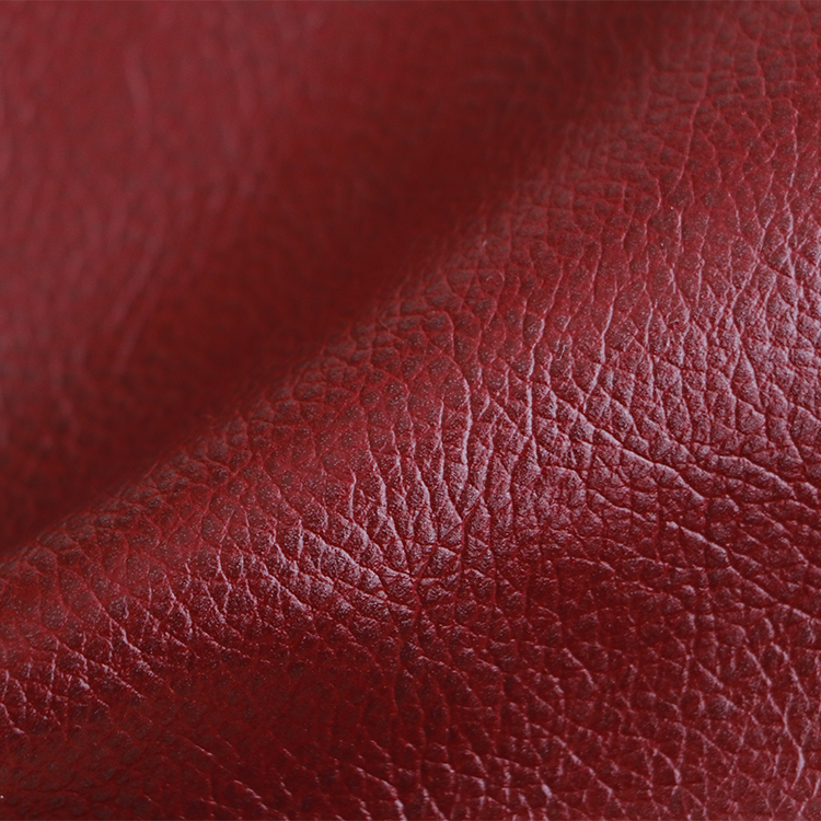 Fabric supplier Jinyonghe good quality red pu coated leather for recliner sets