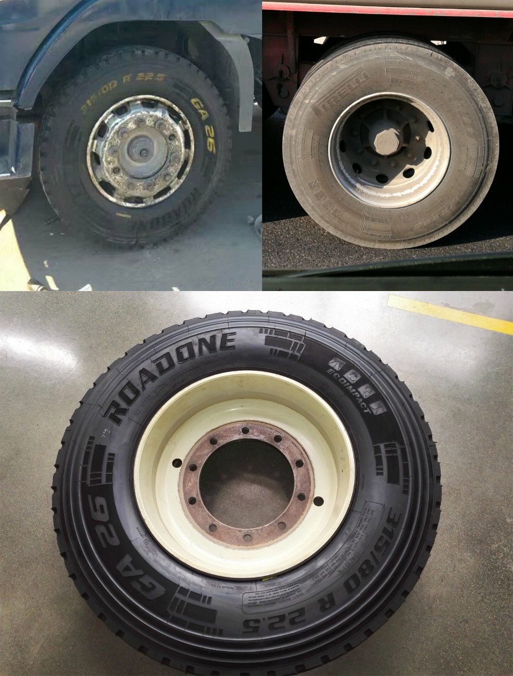 Top quality Roadone brand truck tire with 300,000kms & 4 years warranty