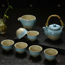 TG-414W226-C-2 chinese tea set made in China fancy coffee cups warmer