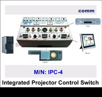 COMM Universal Integrated Projector Control Switch