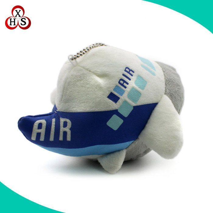 Custom soft toy stuffed plane keychain plush plane keychain