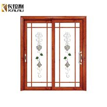 Residential or shopfront antique double glass Aluminium interior french doors sliding