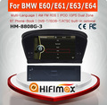 Hifimax touch screen car dvd for bmw e60/dvd car radio navigation system e60/car dvd for bmw 5 series