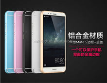 Top Quality Oxidation Aluminum Frame+ PC bottom Case for hua wei mate s