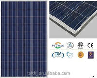 high effeciency fully certified fotovoltaic solar panel 255watt poly solar module under low price per watt