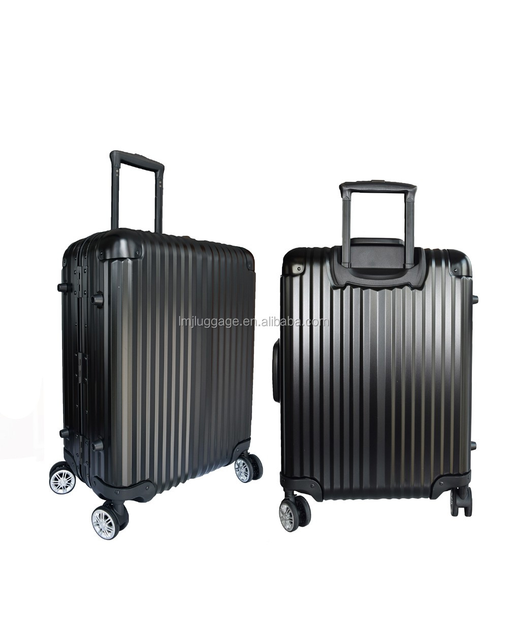 Fashion Pure Color Luggage Suitcase Custom Luggage Suitcase Trunk Case, Aluminum Alloy Suitcase