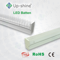 Emergency+Sensor!!!New Product Factory Price high lumen T8 diffused led batten