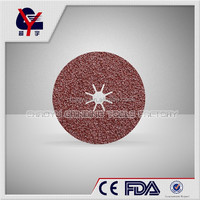 aluminium oxide emery cloth Fiber Disc