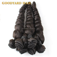 wholesale price 100% virgin remy human hair loose spring curl weave