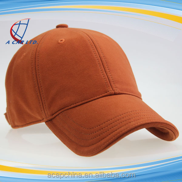 Sample Free !!! Adjustable 6 Panels Full Cotton Baseball Hat Golf Cap For Lady