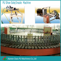 Full automatic 120 stations rotary shoe sole/insole making machine
