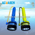 Waterproof LED diving flashlight