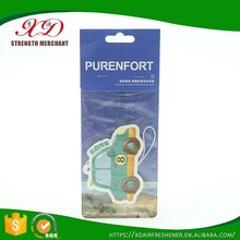 High Quality Custom Made Best Car Air Freshener/Paper Air Freshener Promotion