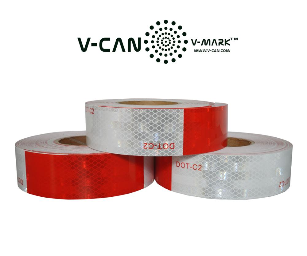 DOT FMVSS 108 reflective trailer tape, pick-up reflective tape #SP-DOT-180018