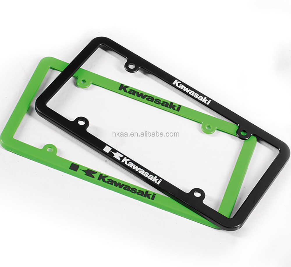 custom license plate frames wholesale blank license plates