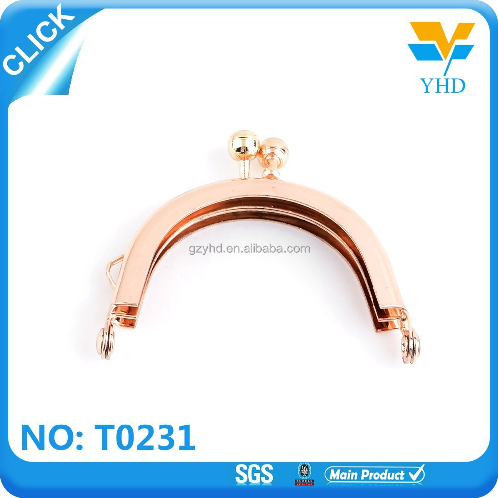 wholesale fashion metal purse frame for bag