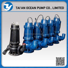 Cheap submersible non-clogged sewage pump for flood control or seawater pumping
