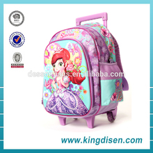 2016 New design school bags backpack with lunch bags with certificate