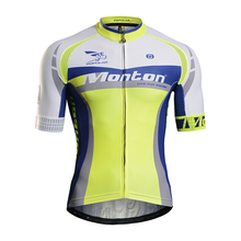 Monton Men's High Quality Short Sleeve Unique Cycling Jerseys