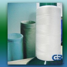 PTFE Staple Fiber (Brown)/Teflon staple fiber