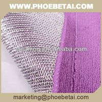 factory microfiber mesh wash cloths