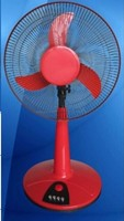 "16"" Rechargeable Stand fan 12v Rechargeable fan - With timer"