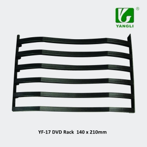 140*210mm Plastic DVD Display Rack