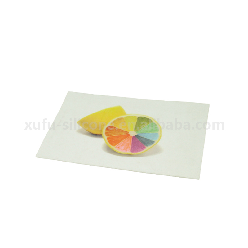 Eco-friendly silicone baking dab mat with custom printing