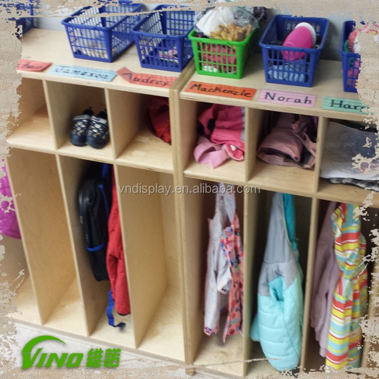 Custom Cabinet Organizer for Clothing, Shoes. Daycare Storage. Brich Plywood Garage Organizer. Home Storage. Wood Cabinets.