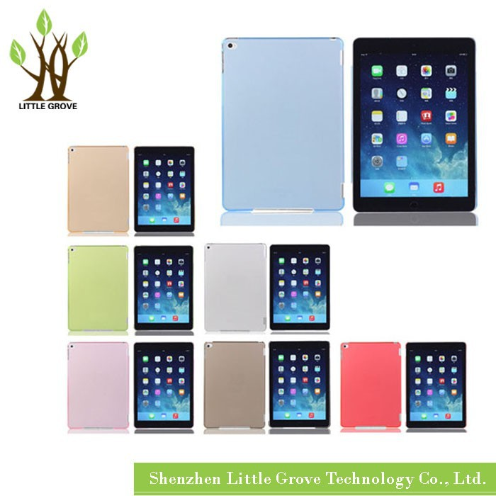 High quality for iPad Air 2 for iPad 6 Plastic Hard Protective Case Cover free shipping