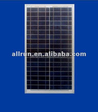 Framed A grade full power cheap price Solar pv panel module 120W 12v