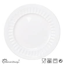 wholesale embossed restaurant dinner plates,cheap white dinner plates for restaurant,cheap bulk dinner plates