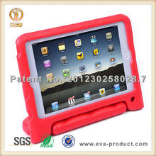 For iPad Mini Kids Stand Shockproof Protective Plastic Hard Case Red
