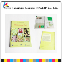 promotional hard cover recycled paper diary note book printing