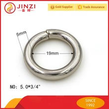 small size iron wire O ring metal accessories for purse