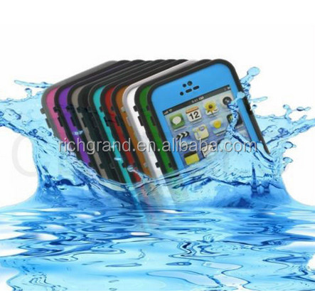 Newest Underwater Multi Colors Waterproof Dustproof case Cover For iPhone 5 5s
