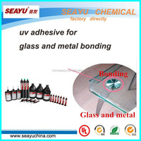 uv3320- uv adhesive for glass and metal bonding