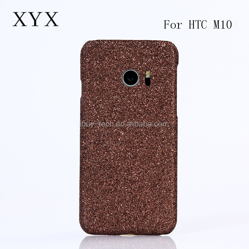 Fashion style shine bling mobile phone accessories case ultra slim combo back cover case for htc one <strong>m10</strong>