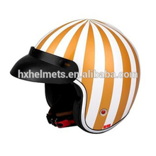 Open Face Metal Offroad Motorcycle Helmet Lock Full Face Orange Motorcycle Helmet