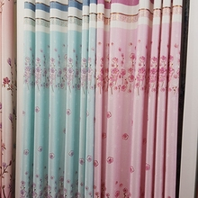 Wholesale blackout printed curtain wall material new curtain designs fabrics turkey