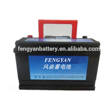 DIN standard 12v 75ah maintenance free mf cheapest car auto battery