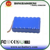 High quality 18v cordless drill battery pack/18v 10ah 18650 li-ion battery Pack 5s5p with pcm and connector