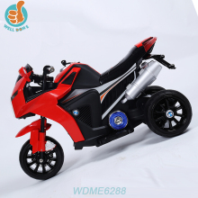WDME6288 Kids Plastic Smart Battery Charger Car Motorcycle With Three Wheels