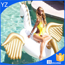 Inflatable pegasus pool float inflatable pegasus