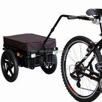 bike carrier for cargo gs approval bicycle cargo trailer with hand wagon
